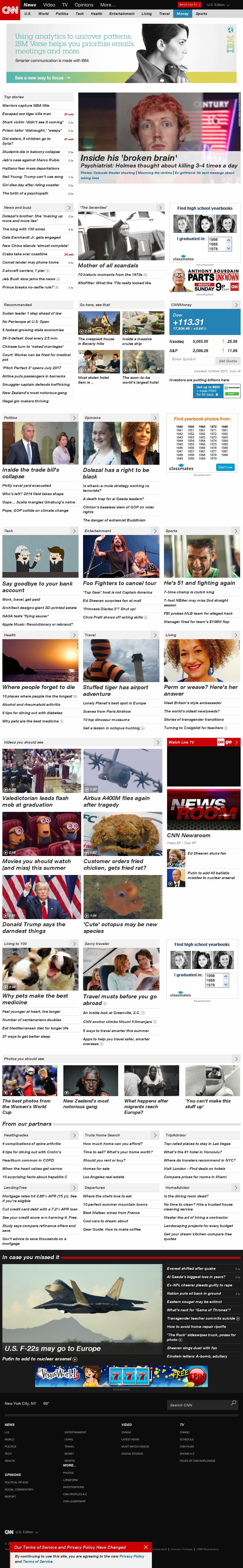 CNN at Wednesday June 17, 2015, 2:03 p.m. UTC