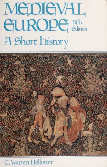 Cover of: Medieval Europe   C. Warren (Charles Warren) Hollister